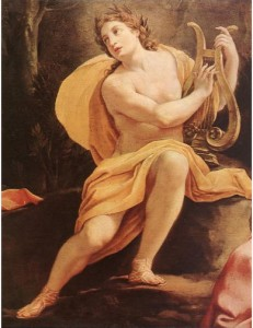 Apollo, the God of Sun, Music, Prophecy and Healing