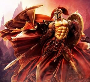 Ares, the God of War 3