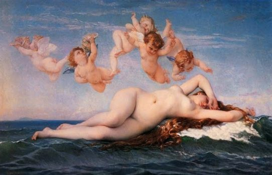 Aphrodite, the Goddess of Beauty, Love and Pleasure