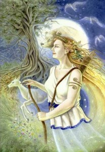 Artemis, the Goddess of the Wilderness and Hunting