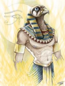 Ra, the God of Sun in Egyptian Mythology
