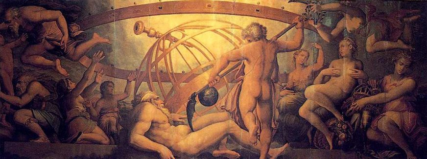 Cronus, Titan King of the Golden Age