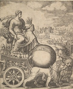 Rhea, the Mother of the Olympian Gods