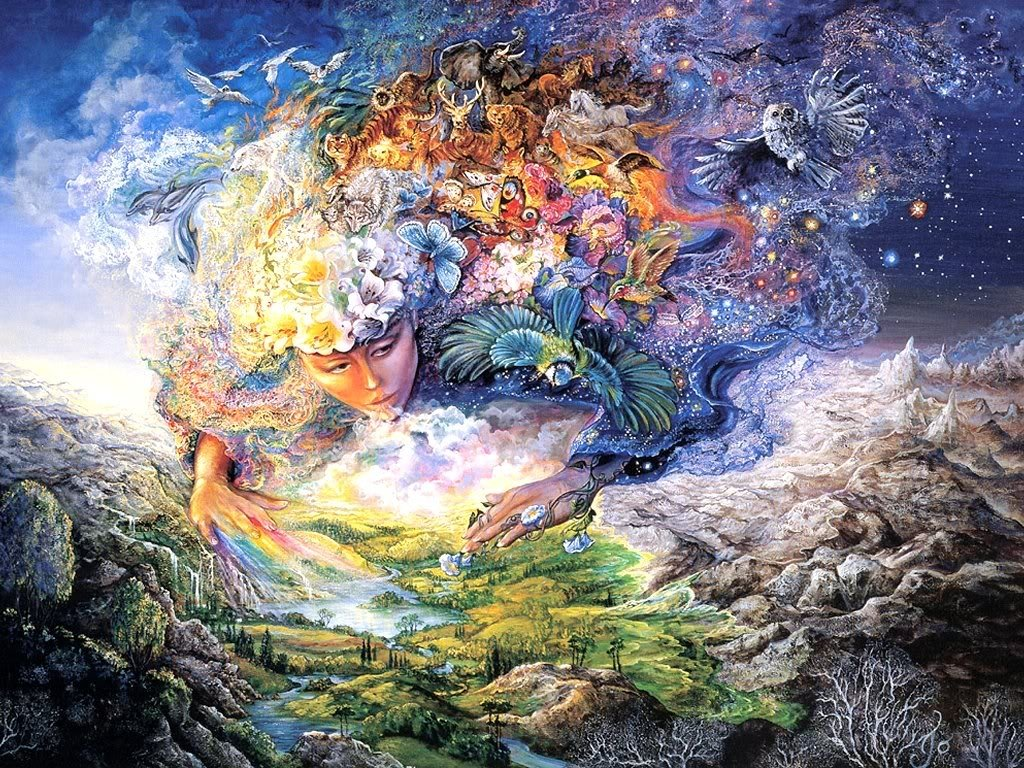 Gaia mother earth the mother of all Goddess of nature greek