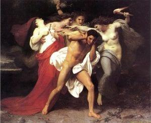 furies, erinyes greek mythology