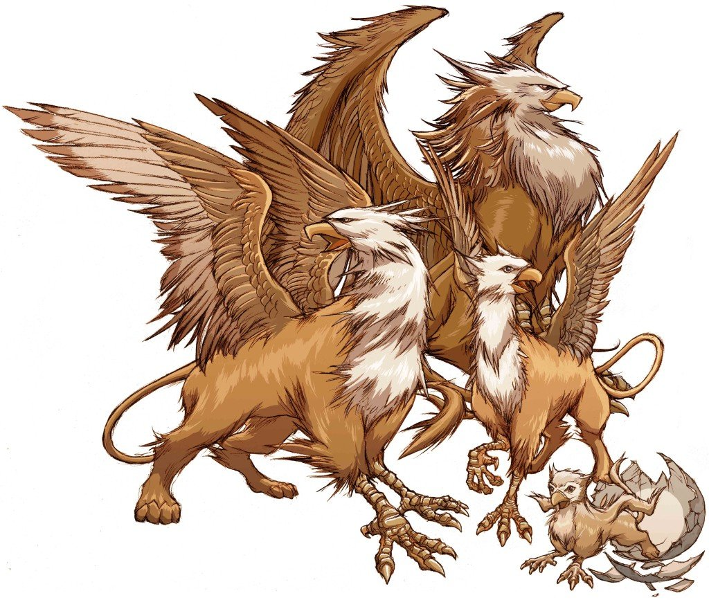 Animal griffin mythical creatures bing images for The griffin