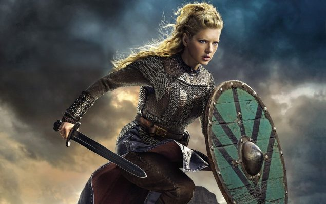 Lagertha the Shieldmaiden, Ragnar Lothbrok's Wife