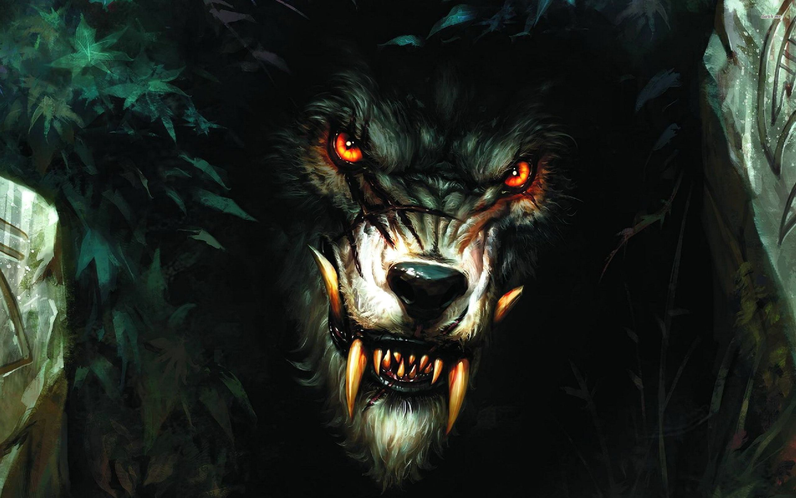 Fabuleux Loup Garou (Rougarou): The Cajun Legend - Mythologian.Net XJ79