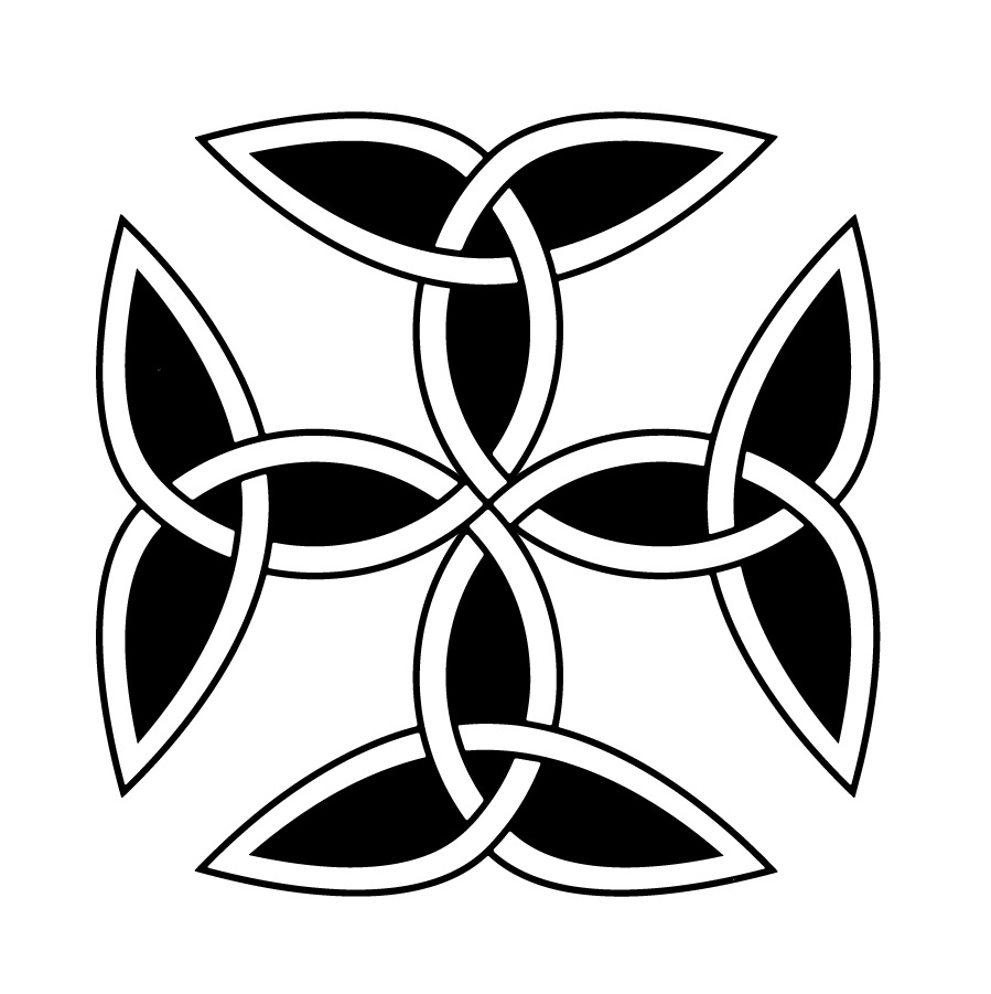 Celtic symbols and their meanings mythologian carolingian cross is a symbol most commonly used by the carolingian dynasty of france the dynasty of charlemagne charles the great biocorpaavc Choice Image
