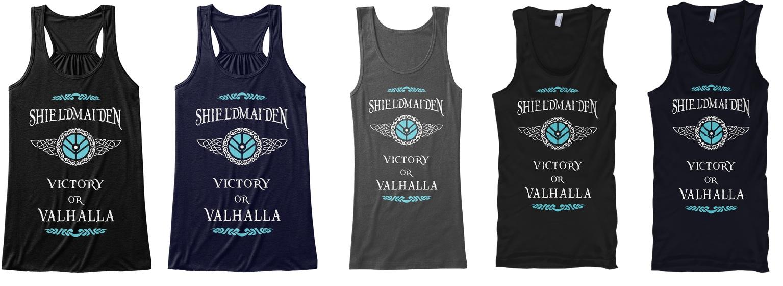 Shieldmaiden Lagertha T-Shirts, Hoodies and Tank Tops (Vikings)