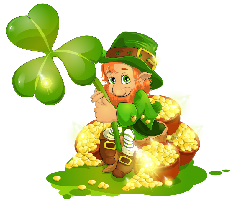 Leprechaun Irish Symbols