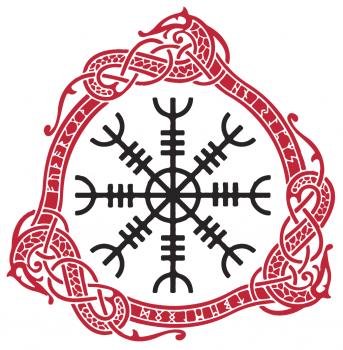 Aegishjalmr/Aegishjalmur, The Helm of Awe Symbol and Its Meaning