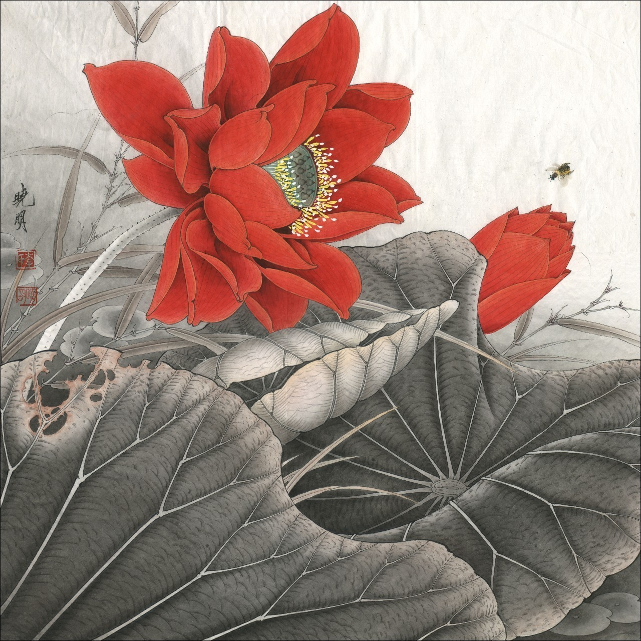 Red lotus flower meaning and symbolism mythologian the red lotus flower its meaning and symbolism in eastern religions and traditions buycottarizona Choice Image