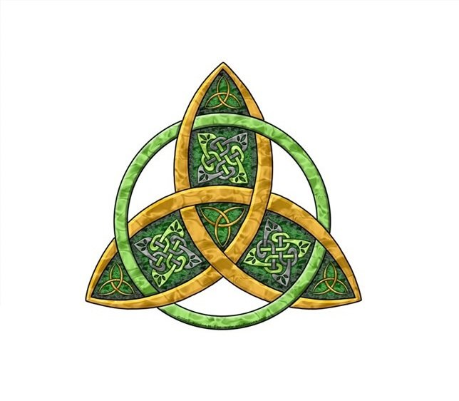 triquetra the celtic trinity knot symbol and its meaning