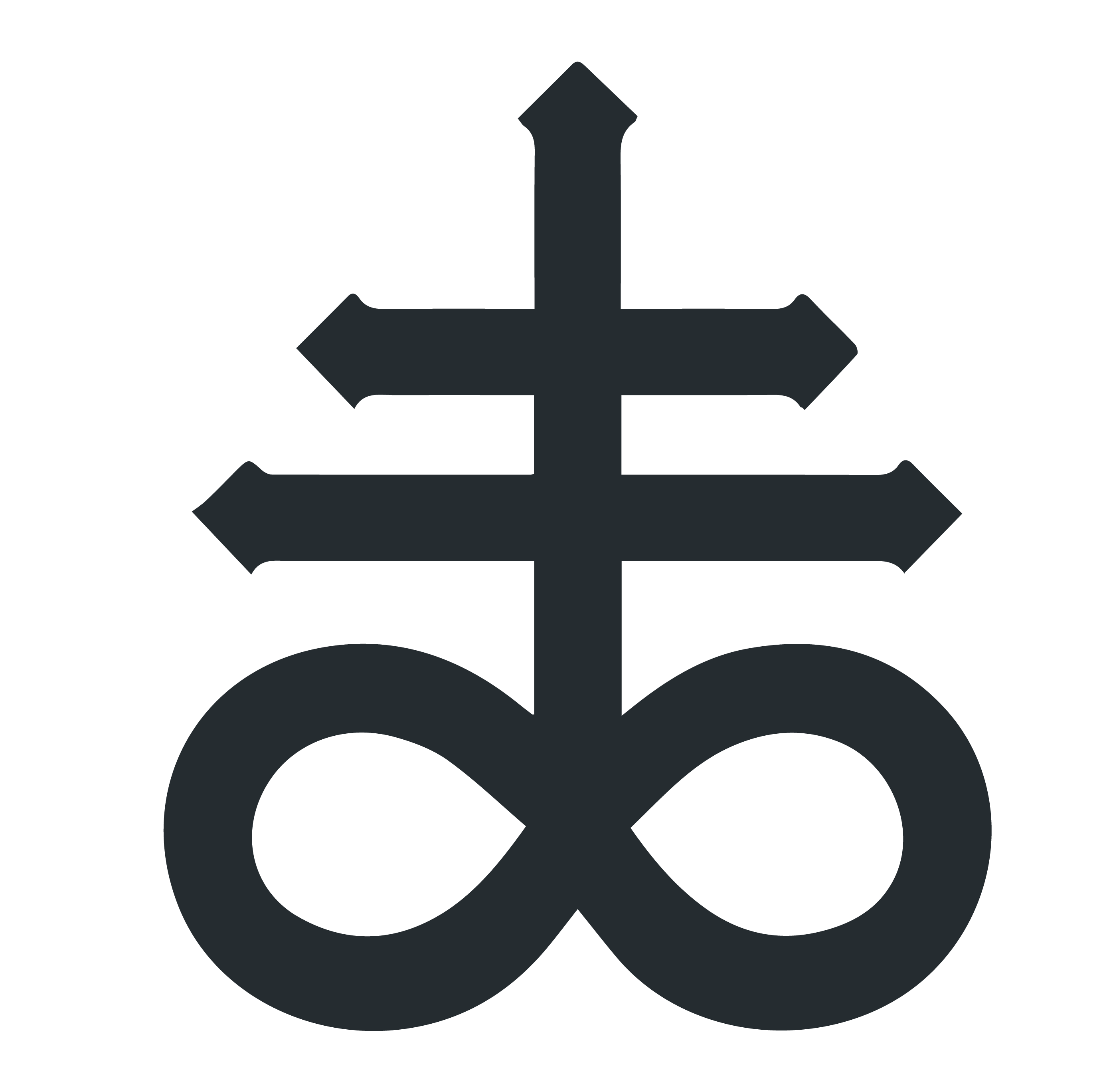 The Leviathan Cross Satans Cross Symbol And Its Meaning