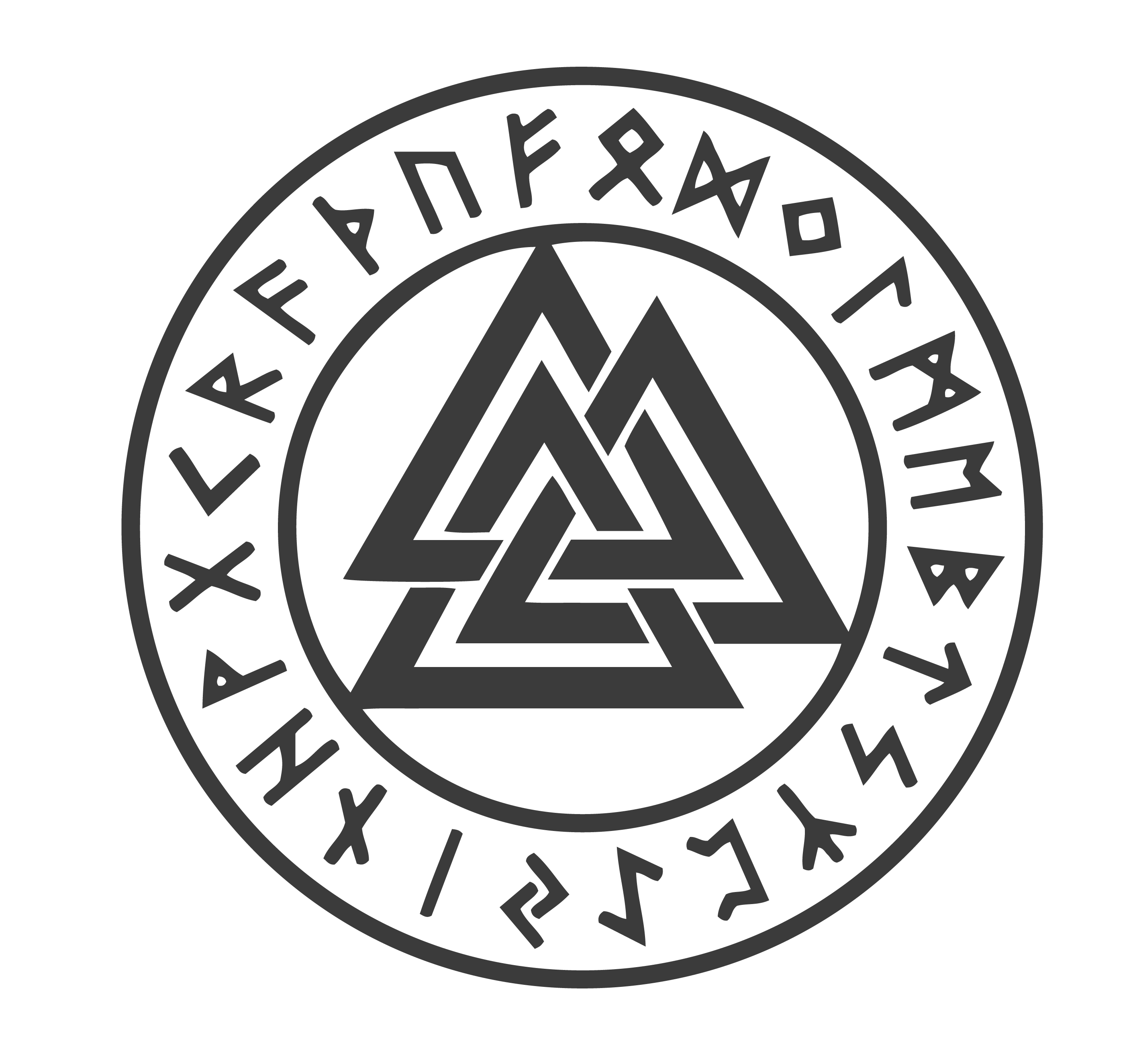 Viking symbolsnorse symbols and their meanings mythologian pagan symbols odins knot valknut meaning biocorpaavc