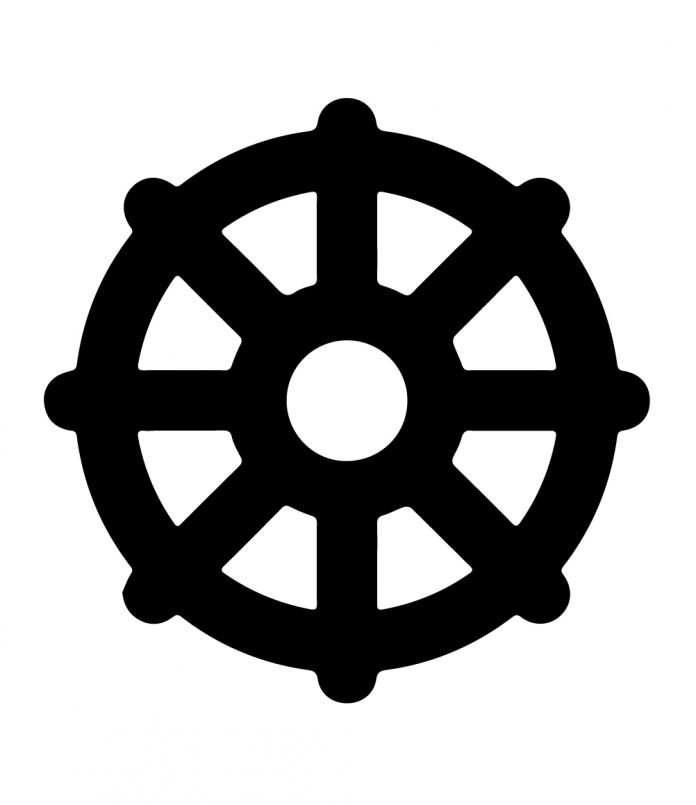 Dharmachakra The Buddhism Symbol Religious Symbols And Their Meanings By Mythologian