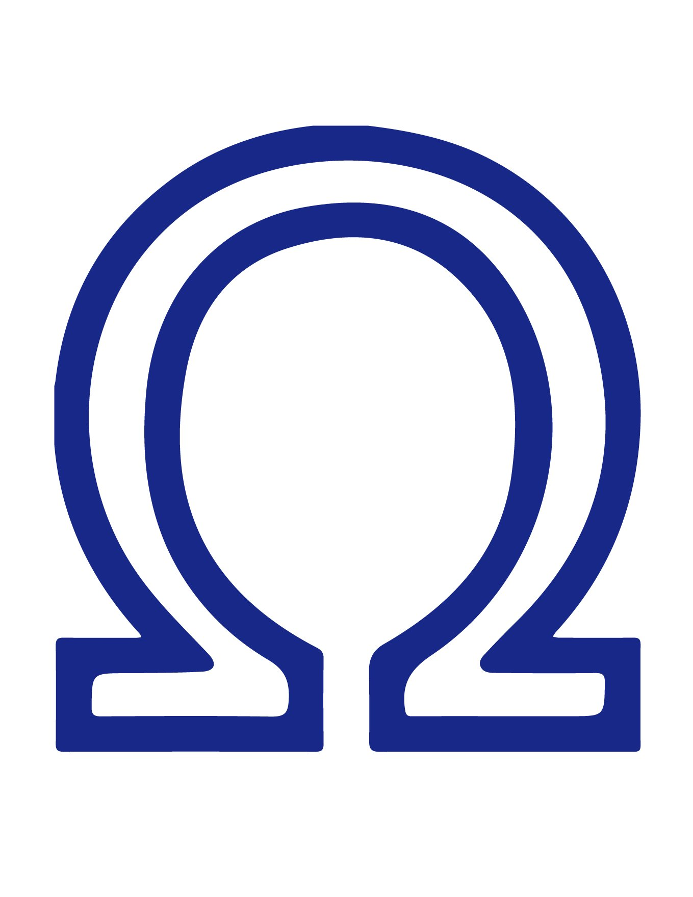 Omega Symbol/Sign and Its Meaning