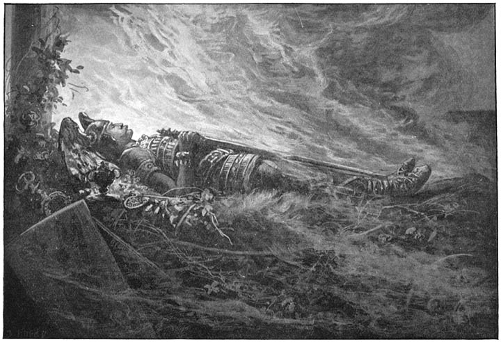 Image of Baldur funeral