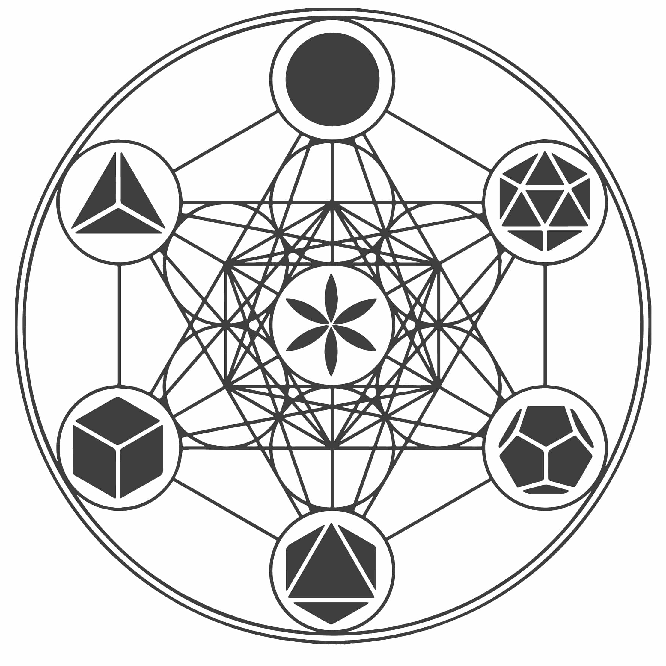 Metatrons Cube Symbol Its Origins And Meaning Mythologian