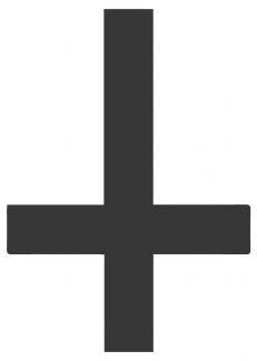 The Upside-down Cross/Inverted Cross/Saint Peter's Cross, Its Meaning and Origins