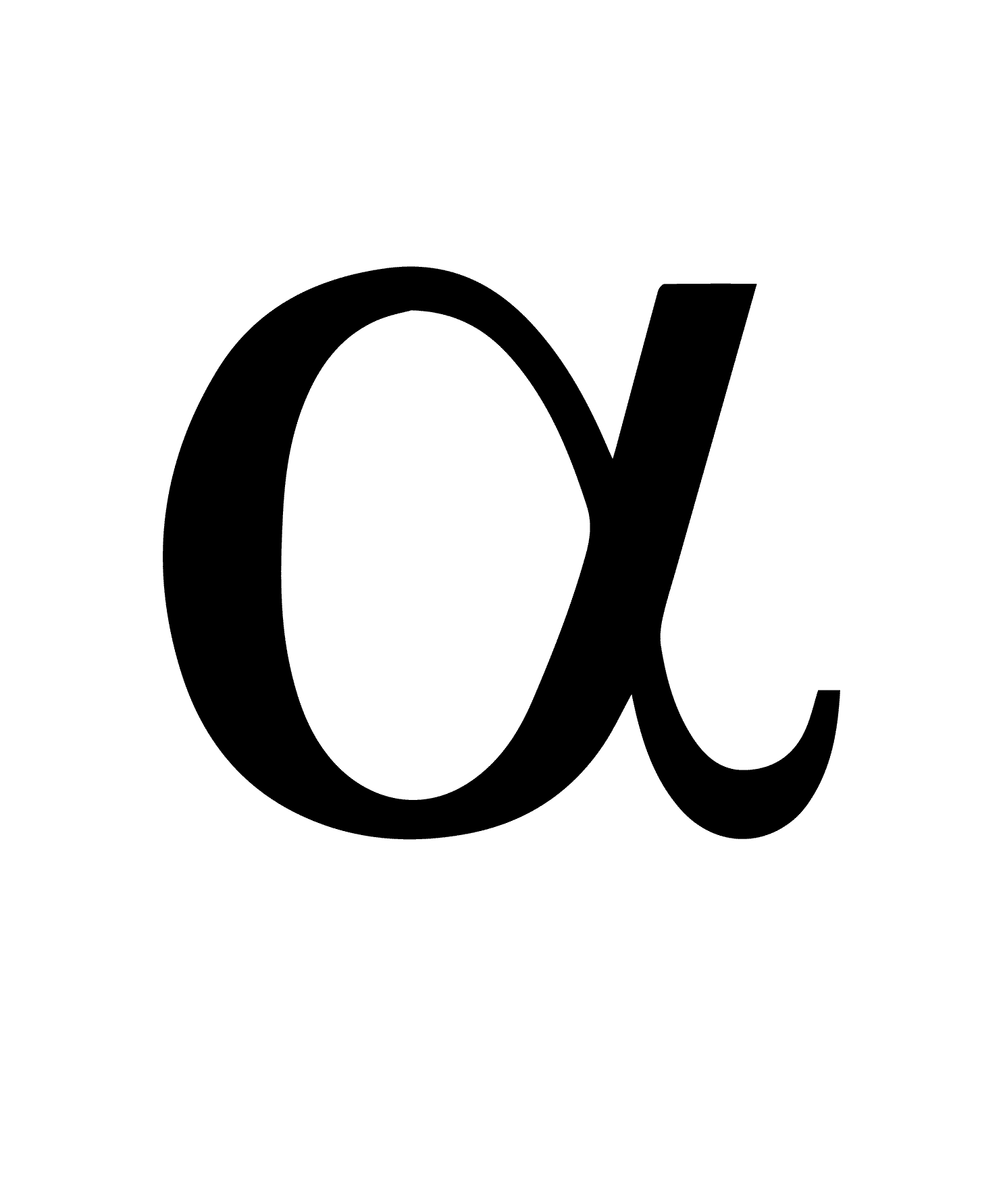 Alpha Symbol and Its Meaning 1