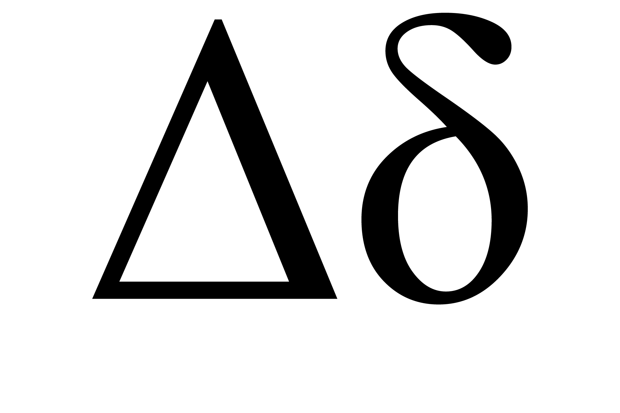 Delta Symbol And Its Meaning - Delta Letter/Sign In Greek Alphabet
