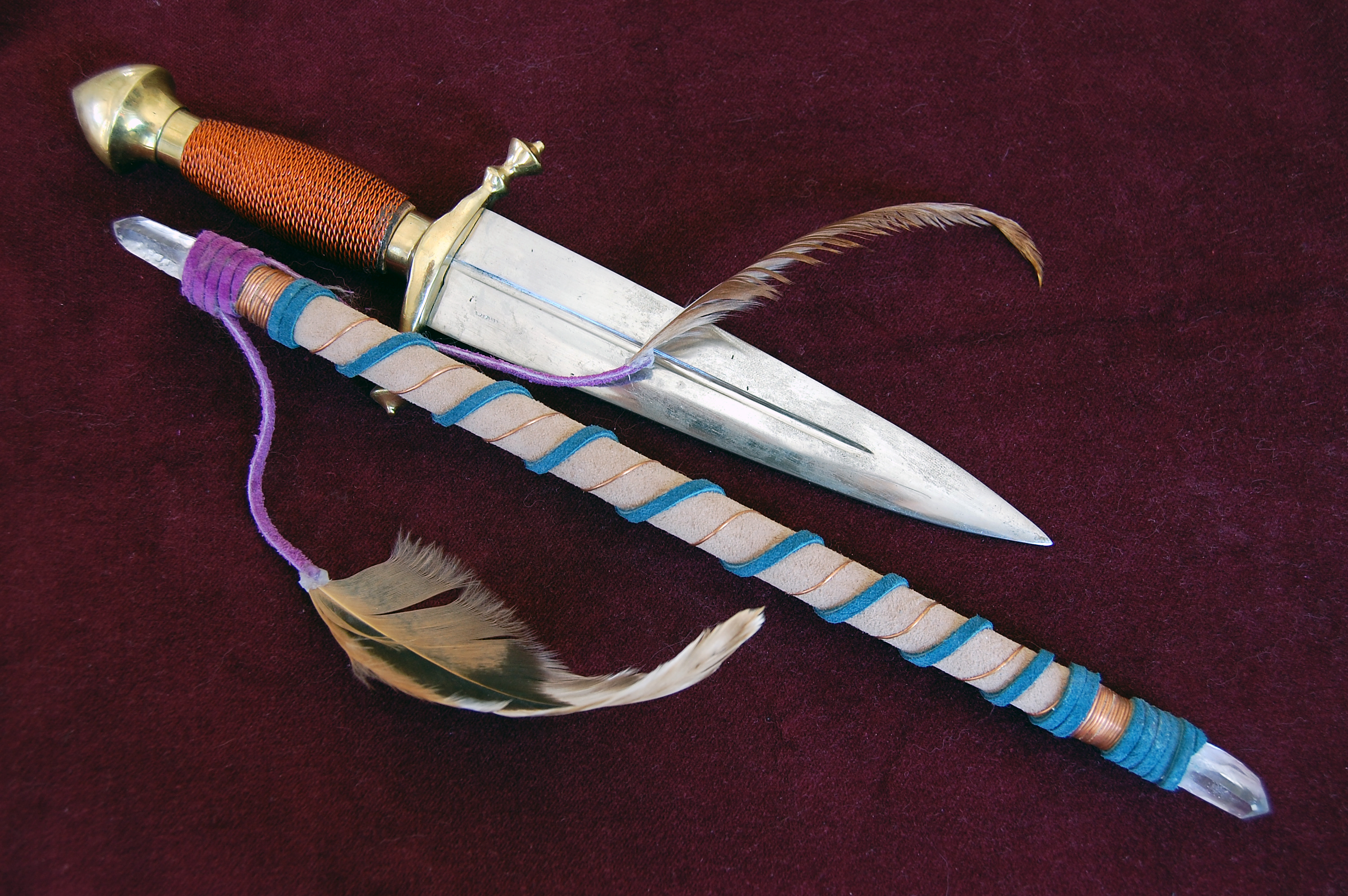 Athame Knife/Dagger, Its Meaning As A Symbol And Importance In Wicca